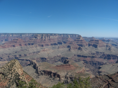 Picture of the Grand Canyon on a lovely sunny day